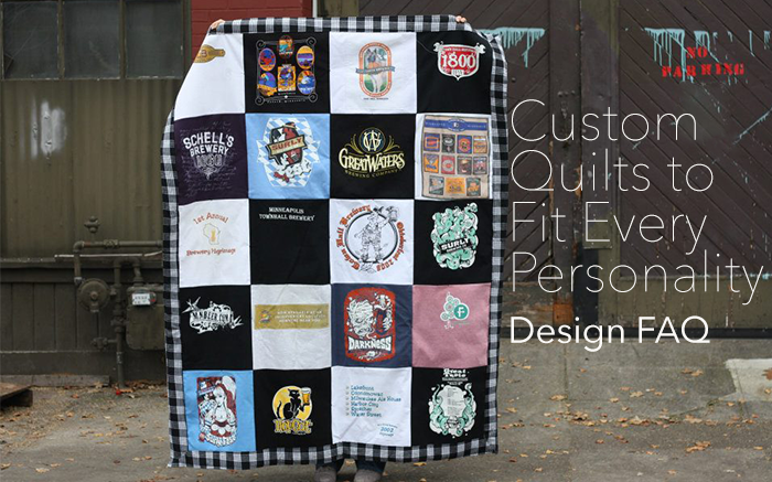 Find out more about how we design each t-shirt quilt